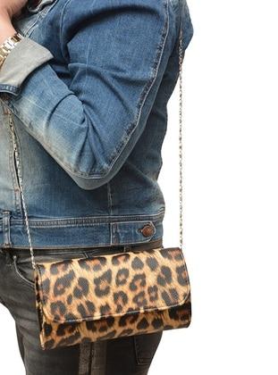 Black - Tan - Clutch - Clutch Bags / Handbags