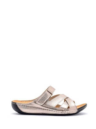 Silver - Slippers