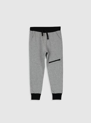 Gray - Boys` Sweatpants - LC WAIKIKI