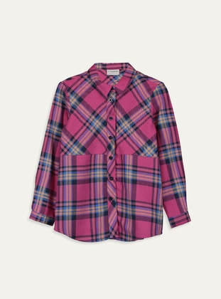 Fuchsia - Girls` Shirt - LC WAIKIKI