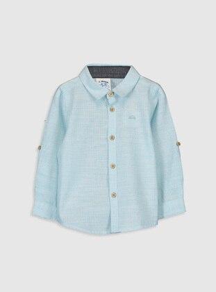 Turquoise - baby shirts - LC WAIKIKI