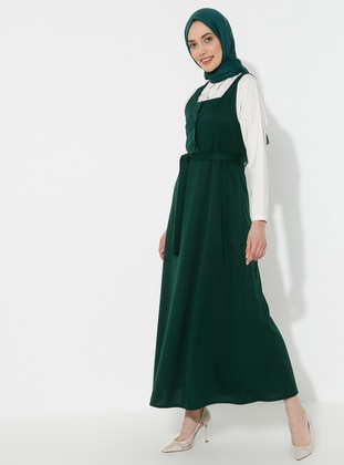 Emerald - Sweatheart Neckline - Dress
