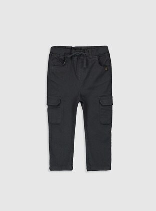 Anthracite - Baby Pants - LC WAIKIKI