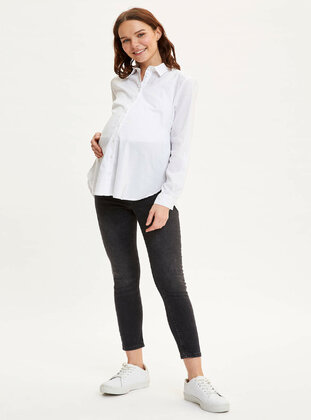 Anthracite - Maternity Pants