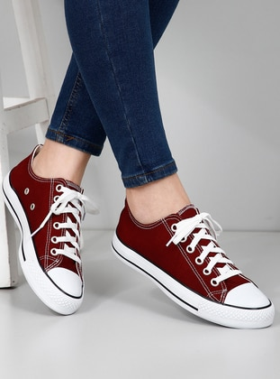 Maroon - Casual - Sport - Sports Shoes