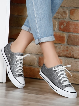 Silver tone - Sport - Sports Shoes