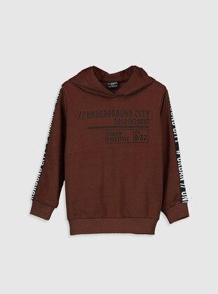 Brown - Boys` Sweatshirt - LC WAIKIKI