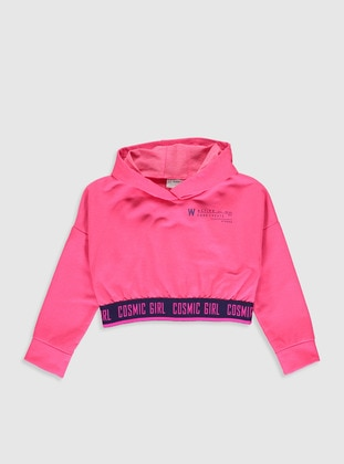 Pink - Girls` Sweatshirt