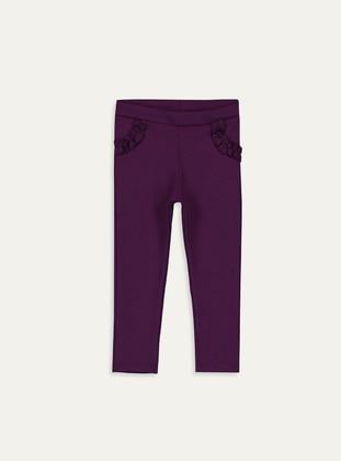 Purple - baby tights - LC WAIKIKI