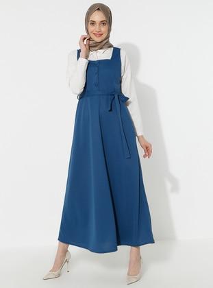 Indigo - Sweatheart Neckline - Dress