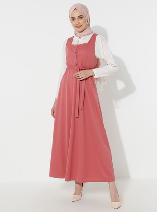 Powder - Sweatheart Neckline - Dress