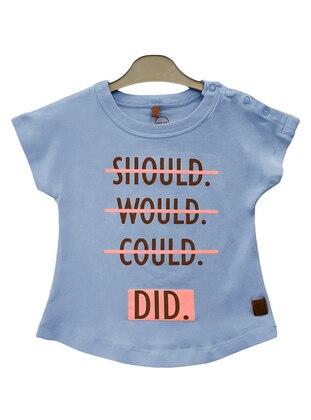 Multi - Blue - baby t-shirts