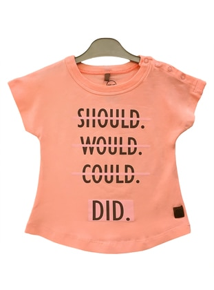 Multi - Salmon - baby t-shirts