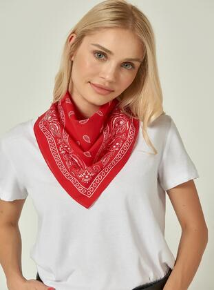 Red - Neckerchief - NW Accessory