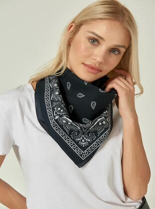 Black - Neckerchief - NW Accessory