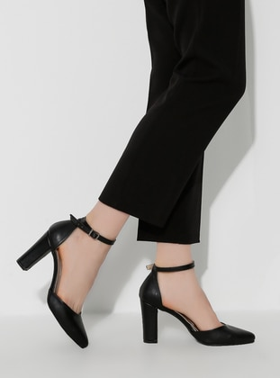 Black - High Heel - Heels - ADDİS SHOES