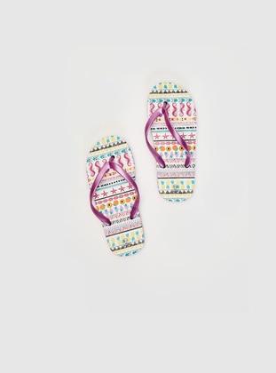 Lilac - Girls` Sandals - LC WAIKIKI