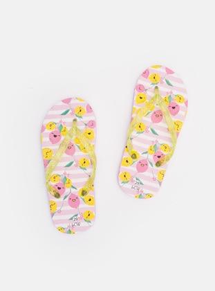 Yellow - Girls` Sandals - LC WAIKIKI