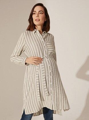 Khaki - Maternity Blouses Shirts - LC WAIKIKI