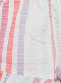 Stripe - - Pink - Baby Shorts