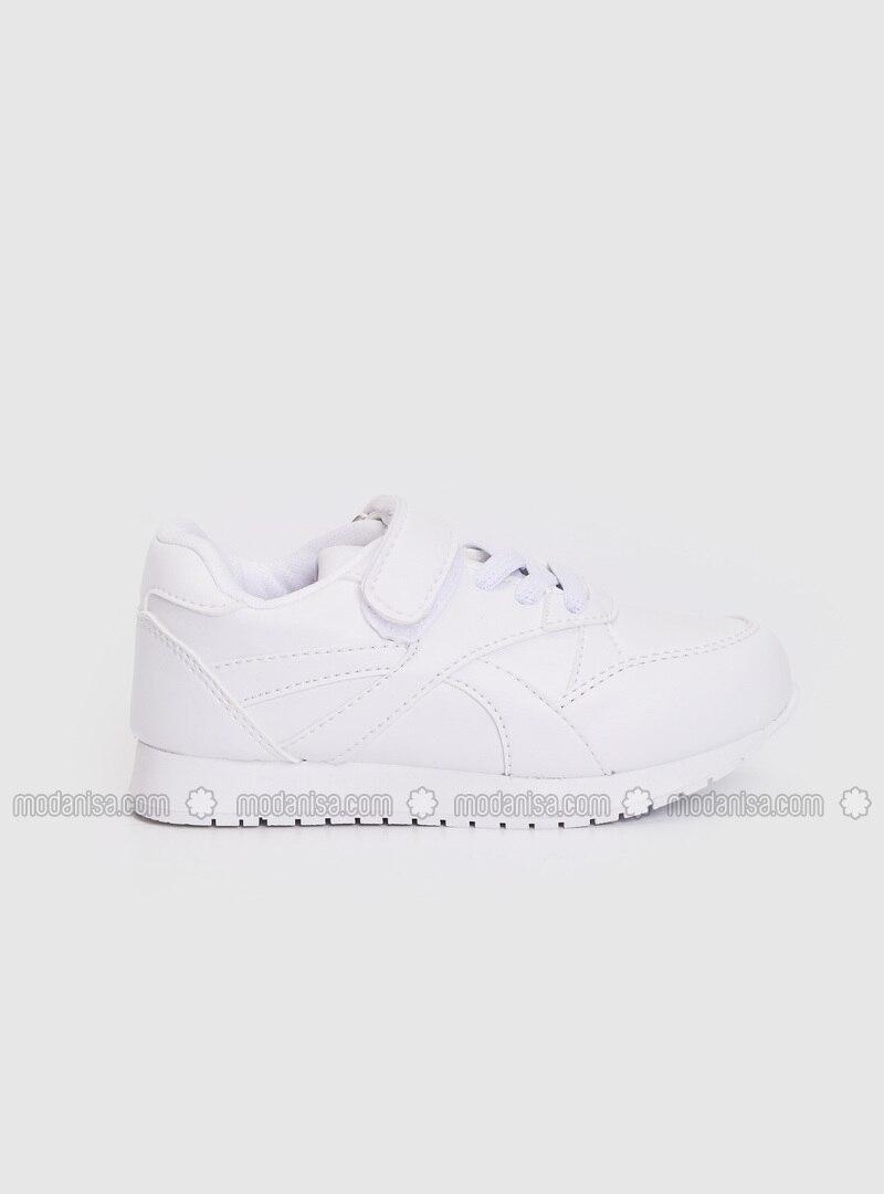 White - Boys` Shoes