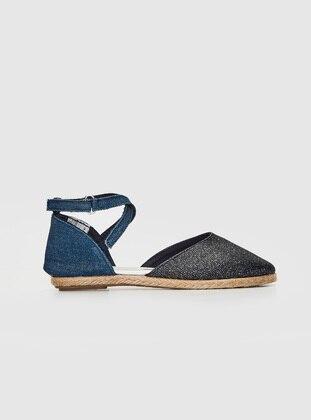 Navy Blue - Girls` Flat Shoes - LC WAIKIKI