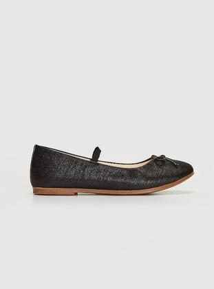 Black - Girls` Flat Shoes - LC WAIKIKI