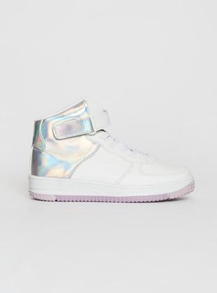 White - Girls` Boots