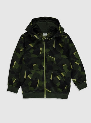 Green - Boys` Sweatshirt - LC WAIKIKI