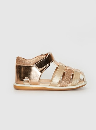 Gold - Baby Shoes