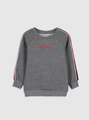 Black - Boys` Sweatshirt - LC WAIKIKI