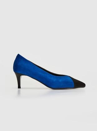 Navy Blue - Heels