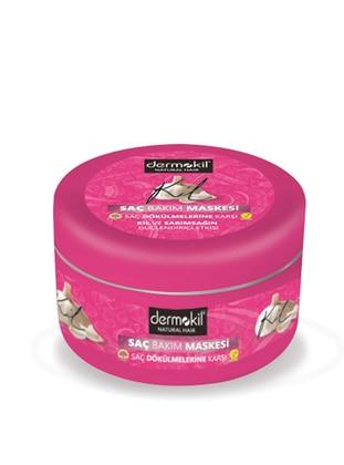 Natural Hair Hair Care Mask 300 Ml. - Against Hair Loss