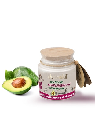 Make Your Own Mask Series Pure Clay Mask with Avocado Oil - Dermokil