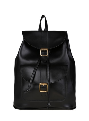Black - Backpack - Backpacks - Judour Bags