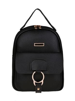 Black - Backpack - Backpacks - Judour Bags