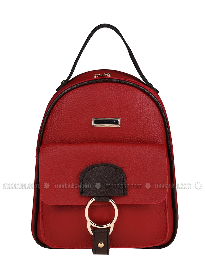 Red - Backpack - Backpacks