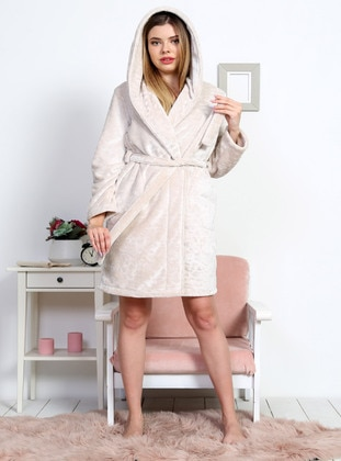 Beige - Morning Robe