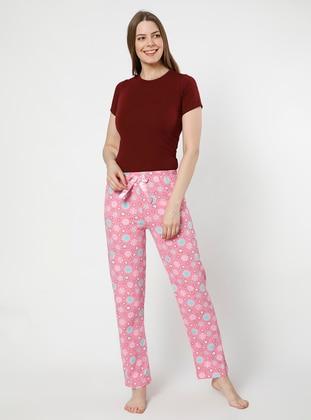 Pink -  - Pyjama - AKBENİZ