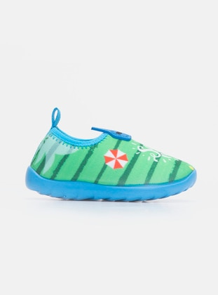 Green - Home Shoes