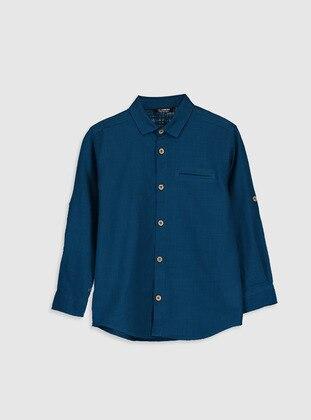 Petrol - Boys` Shirt - LC WAIKIKI