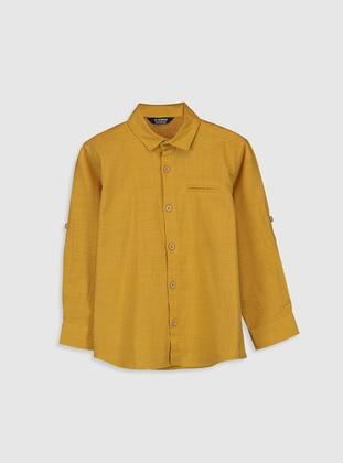 Yellow - Boys` Shirt - LC WAIKIKI