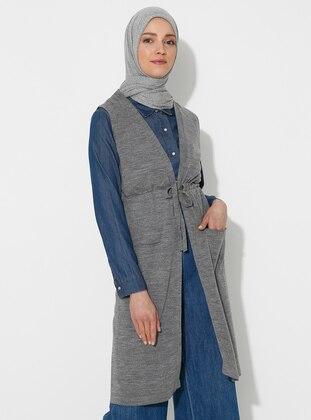 Gray -  - Vest