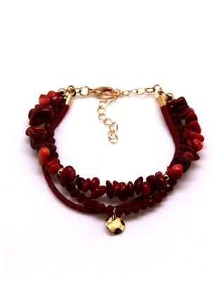 Gold - Red - Bracelet
