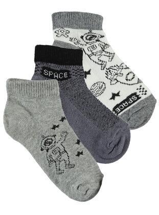 Gray - Socks - Civil