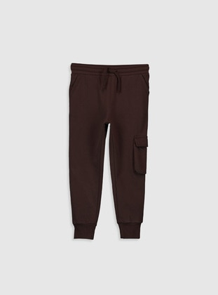 Brown - Boys` Sweatpants - LC WAIKIKI