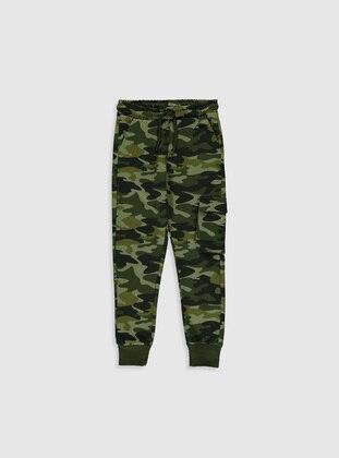 Green - Boys` Sweatpants - LC WAIKIKI
