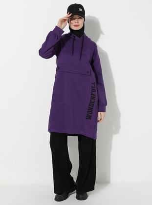 Purple -  - Tunic