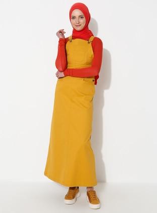 Mustard - Unlined - Dress
