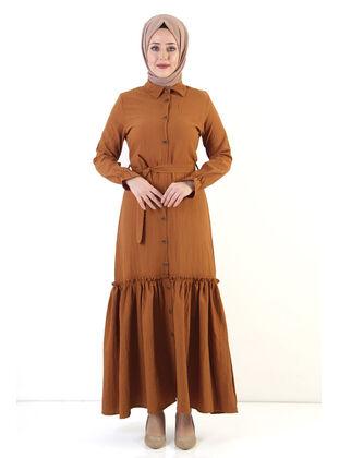 Tan - Dress